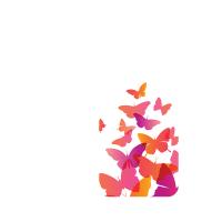 Силиконов гръб за Samsung Galaxy S8 Plus - Butterflies