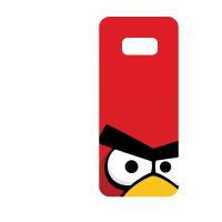 Силиконов гръб за Samsung Galaxy S8 Plus - angry-birds