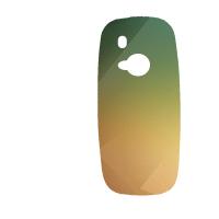 Силиконов гръб за Nokia 3310 - absctract11