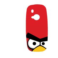 Силиконов гръб за Nokia 3310 - angry-birds