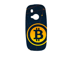 Силиконов гръб за Nokia 3310 - bitcoin