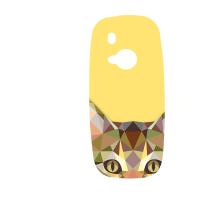 Силиконов гръб за Nokia 3310 - cat
