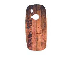 Силиконов гръб за Nokia 3310 - wood