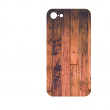 Силиконов гръб за Apple iPhone 7 - wood