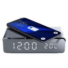 Безжично зарядно с часовник и термометър - Samsung Galaxy A80