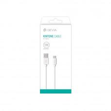 Смарт кабел Devia Micro USB/ Type C/ Lightning to USB