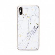 Силиконов Гръб Forcell MARBLE Case За Samsung Galaxy A51 5G White