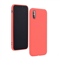 Гръб Forcell Silicone Lite - Xiaomi Redmi Note 9 Pro - розов