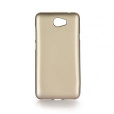 Гръб i-Jelly Case за Huawei P10 златен