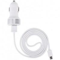 Зарядно За Кола С Micro USB DEVIA White