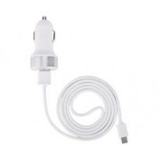 Зарядно За Кола USB Type C DEVIA White