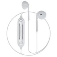 Безжични слушалки - Devia Smart Series Dual EarPhone V2, EM019 - White