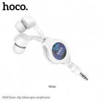 Слушалки HOCO Easy Clip Telescopic M68 - Xiaomi Redmi 9C White