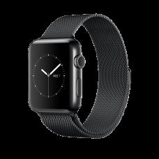 Apple Watch Series 2 GPS 38mm Black Case Milanaise Loop