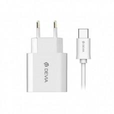 Зарядно Lightning 220V 2.1 A White
