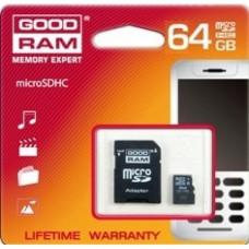 Карта памет Micro SD на GOODRAM 64GB class 10