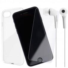 Промо Пакет Ultra slim case+Glass+Handsfree