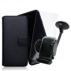 Промо Пакет Fancy book case+Glass+Car Holder
