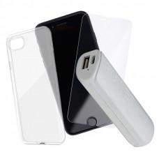 Промо Пакет Jelly case mercury+Glass+Power bank
