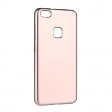 Гръб Jelly Flash Mat - Huawei Honor 10 розово злато