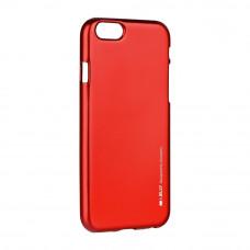 Гръб i-Jelly Mercury - Apple iPhone 6 червен