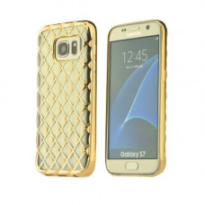 Гръб Luxury Gel - Samsung Galaxy S7 златен