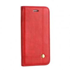 Калъф PRESTIGE Book - Nokia 5.1 червен