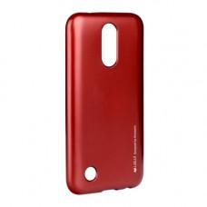 Гръб i-Jelly Mercury - LG G7 ThinQ червен