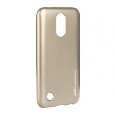 Гръб i-Jelly Mercury - LG G7 ThinQ златен