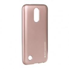 Гръб i-Jelly Mercury - LG G7 ThinQ розово злато