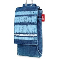 Калъфи за Samsung Galaxy Pocket Neo плат Denim Scraped