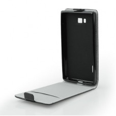 Калъф Flip Case Slim Flexi - LG Spirit черен
