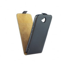Калъф Flip Case Slim Flexi Fresh - Huawei Honor 5A черен