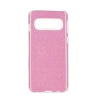 Гръб Forcell SHINING - Samsung Galaxy S10 Plus розов