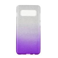 Гръб Forcell SHINING - Samsung Galaxy S10 Plus прозрачен-виолетов