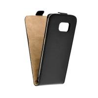 Калъф Flip Case Slim Flexi Fresh - Samsung Galaxy S6 Edge  черен