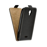 Калъф Flip Case Slim Flexi Fresh - Huawei Y3 черен