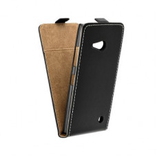 Калъф Flip Case Slim Flexi Fresh - Nokia 730 черен