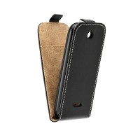 Калъф Flip Case Slim Flexi Fresh - Nokia 225 черен