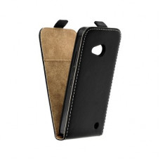 Калъф Flip Case Slim Flexi Fresh - Nokia Lumia 550 черен