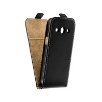Калъф Flip Case Slim Flexi Fresh - Samsung Galaxy Core Plus черен