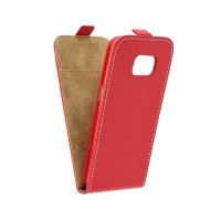 Калъф Flip Slim Flexi Fresh - Samsung Galaxy S7 червен