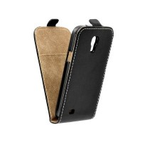 Калъф Flip Case Slim Flexi Fresh - Samsung Galaxy S4 Mini черен