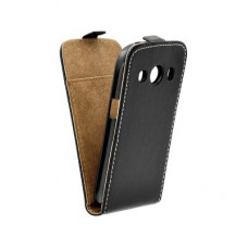 Калъф Flip Case Slim Flexi Fresh - Samsung Galaxy Ace 4 черен