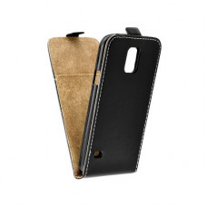Калъф Flip Case Slim Flexi Fresh - Samsung Galaxy S5 черен