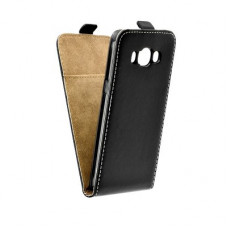 Калъф Flip Case Slim Flexi Fresh - Samsung Galaxy J7 2016 черен