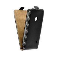 Калъф Flip Case Slim Flexi Fresh - Nokia Lumia 520 черен