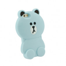 3D Гръб синя мечка - Apple iPhone 5S