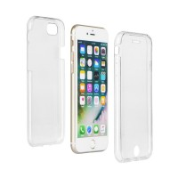 "360"" Ultra Slim Front+Back Case за Apple iPhone 8 Plus прозрачен"
