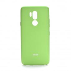 Гръб Roar Colorful Jelly - LG G7 ThinQ лайм